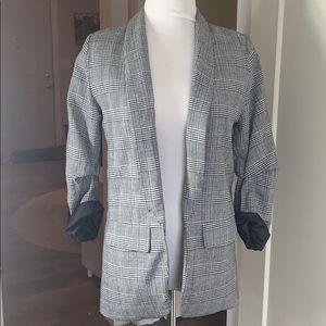 Jackets & Blazers - Plaid blazer